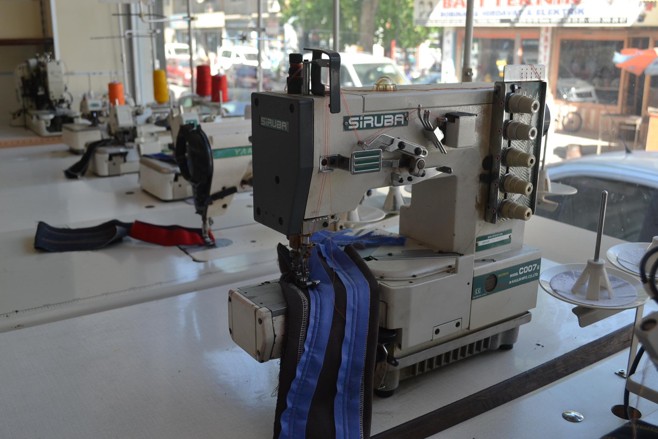 SIRUBA C007E-J122-364 CH/UTQ 2.EL BURUNLU REÇME MAKİNASI